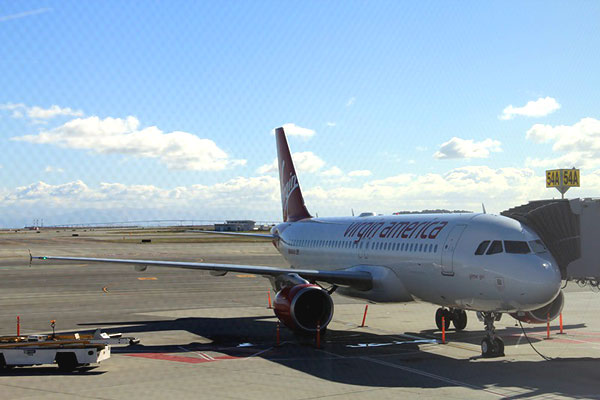 From San-Francisco to Los Angeles with Virgin America