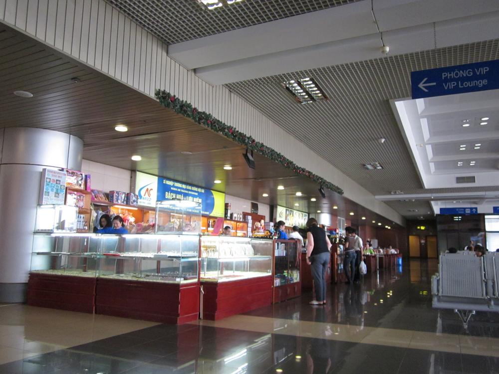 В аэропорту Ханой Ной Бай