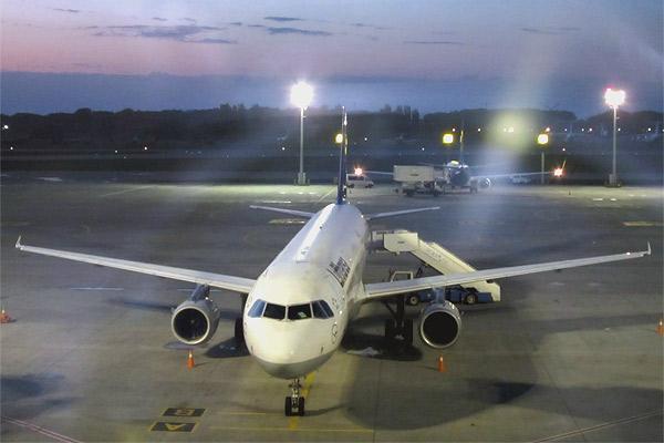 Lufthansa - Non stop You или в Новый свет из KBP в JFK через FRA. Часть 1.