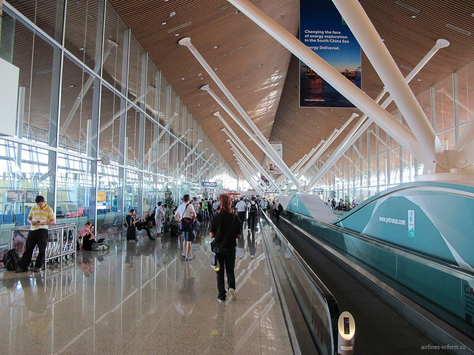 Сектор C основного терминала аэропорта Куала-Лумпур