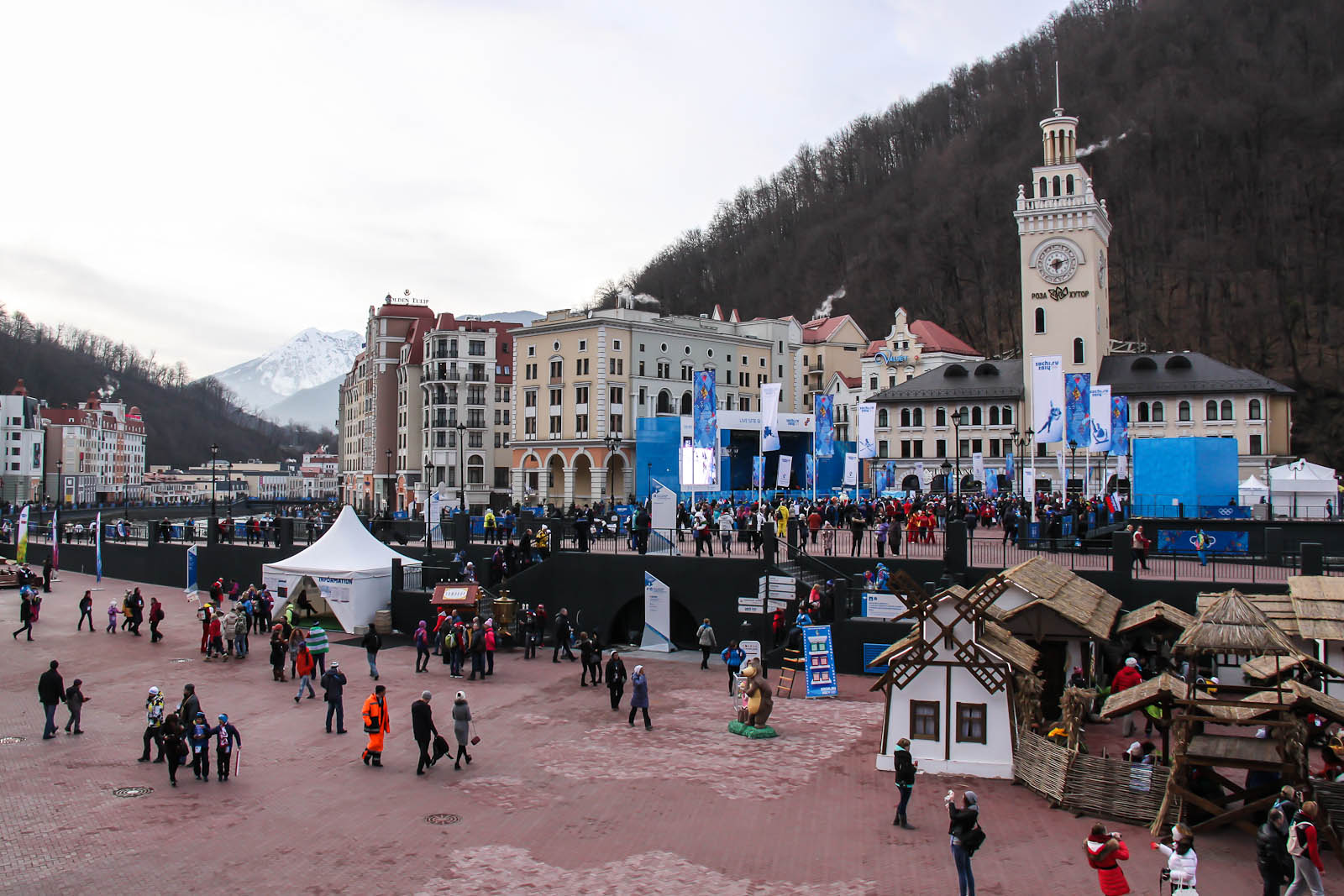 Rosa Khutor skiing resort