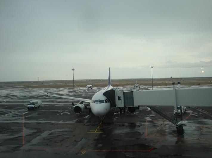 Airbus A319 авиакомпании Air Astana в аэропорту Астаны