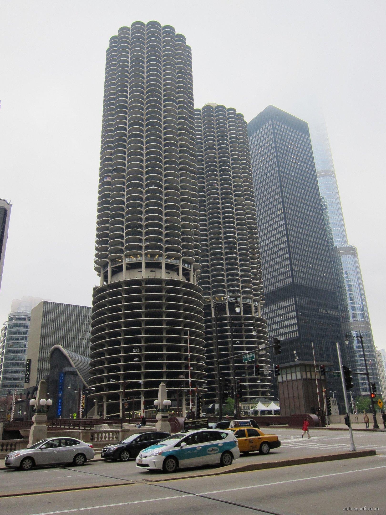 В центре Чикаго