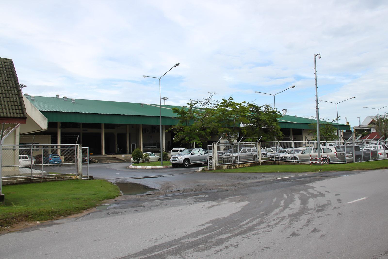 Грузовой склад  аэропорта Пхукет