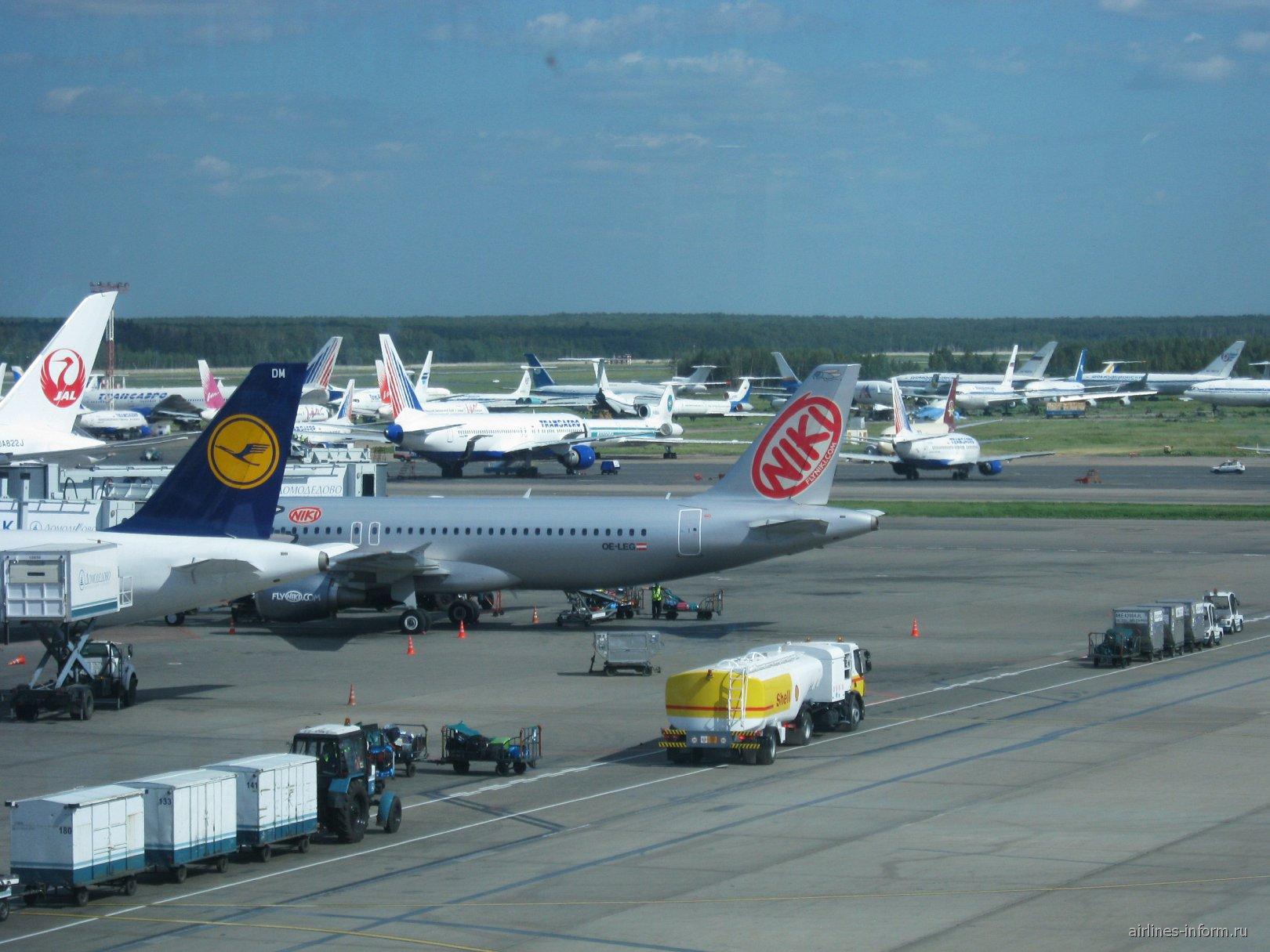 Перрон аэропорта Домодедово