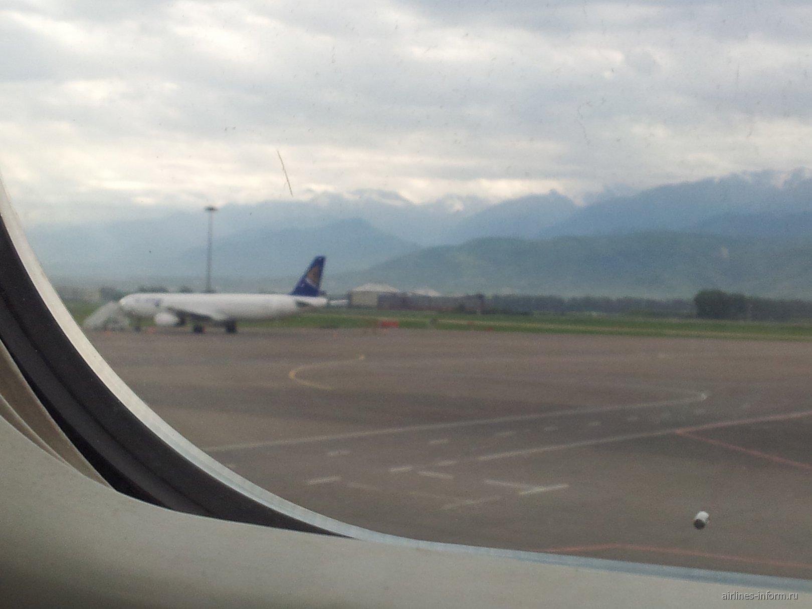 В аэропорту Алматы