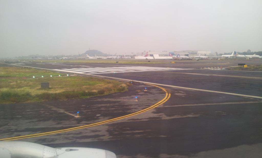 В аэропорту Мехико