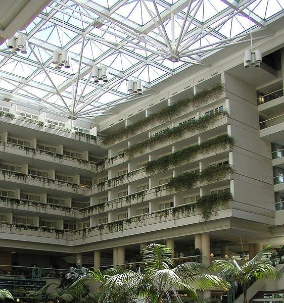 Гостиница Hyatt в аэропорту Орландо