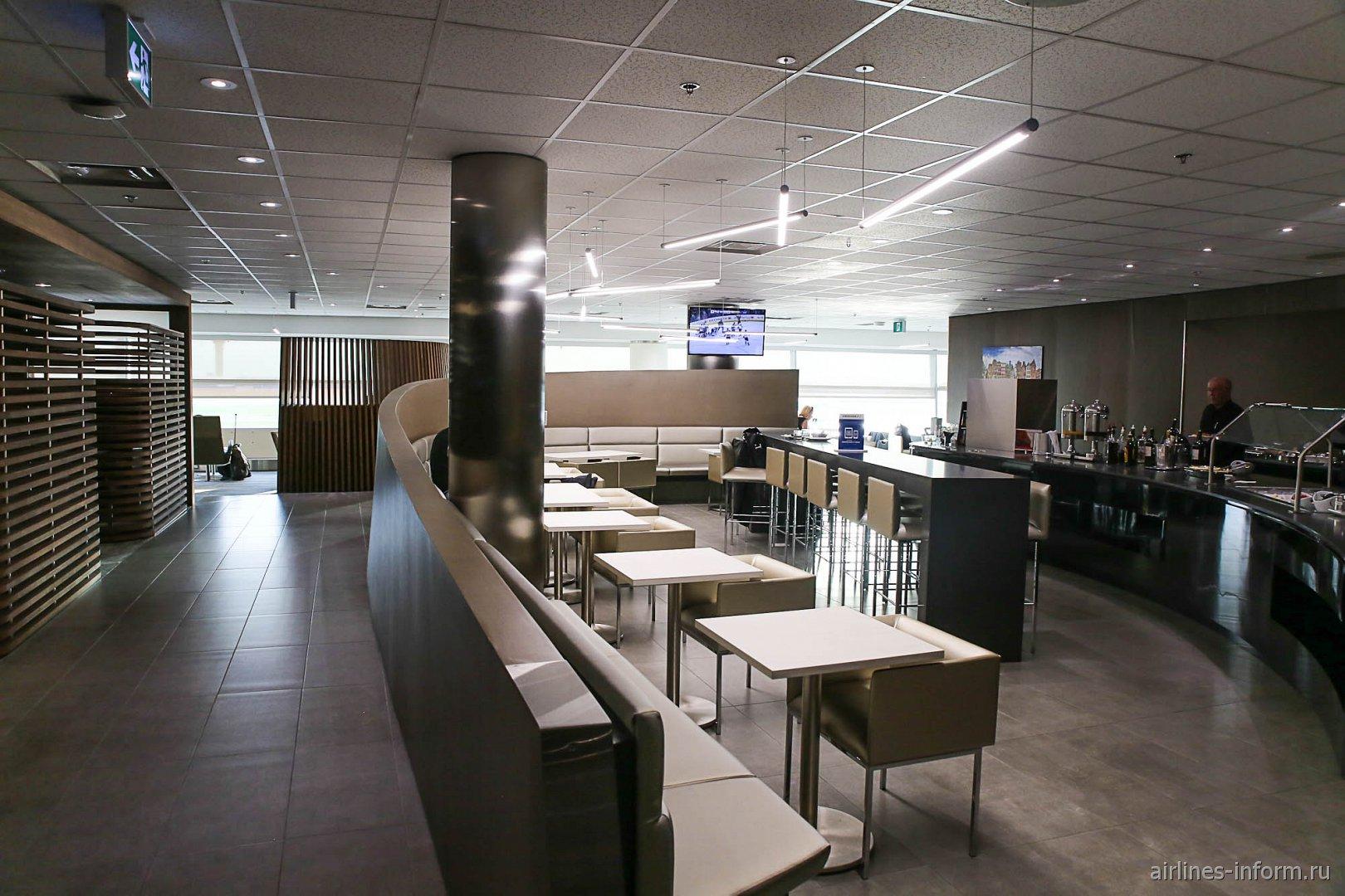 Бизнес-зал Air France - KLM в терминале 3 аэропорта Торонто Пирсон