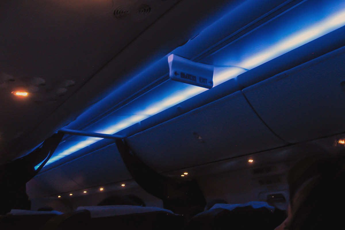 Boeing 737-800 Sky Interior lights