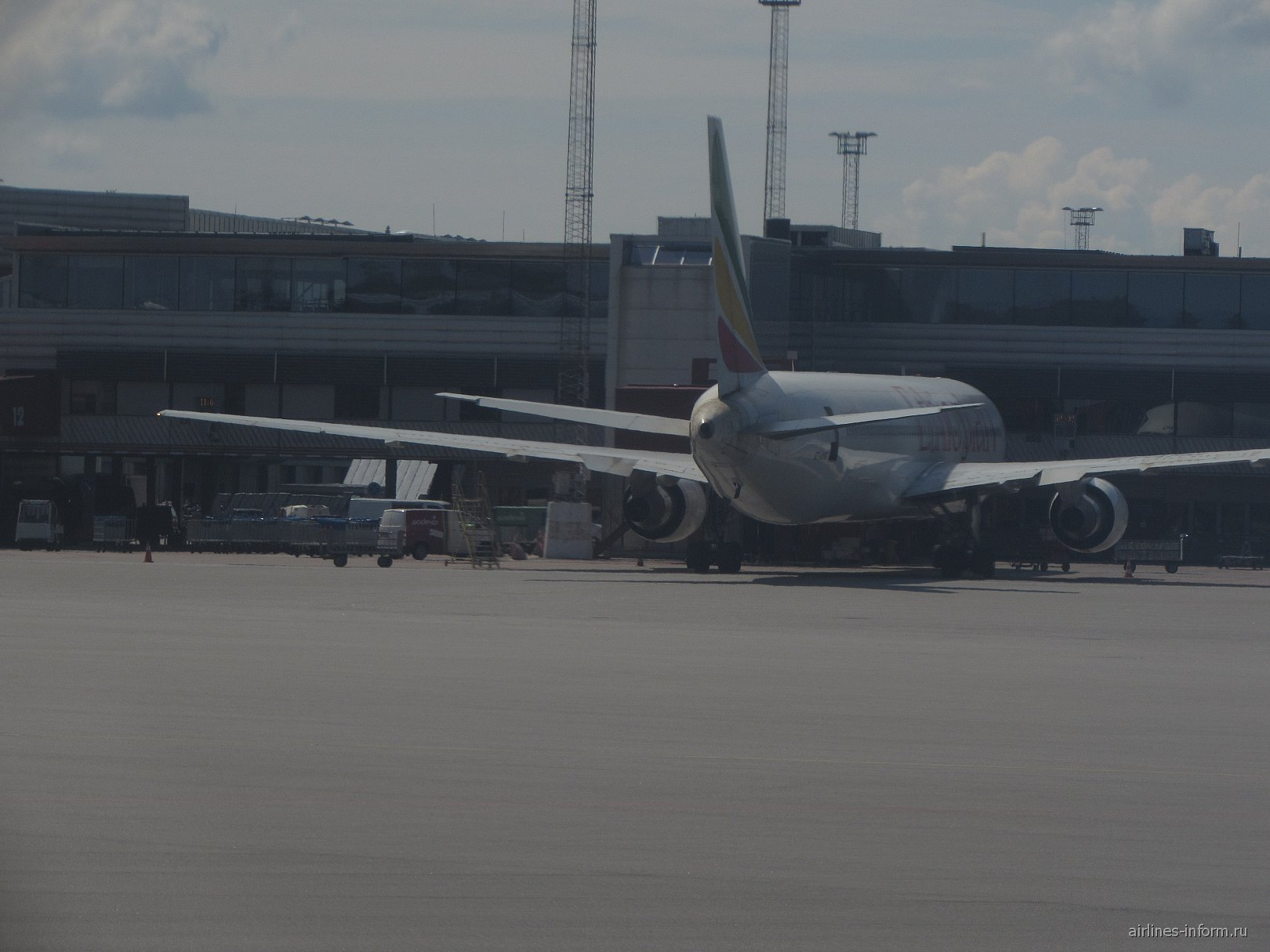 Б-767 Эфиопских авиалиний