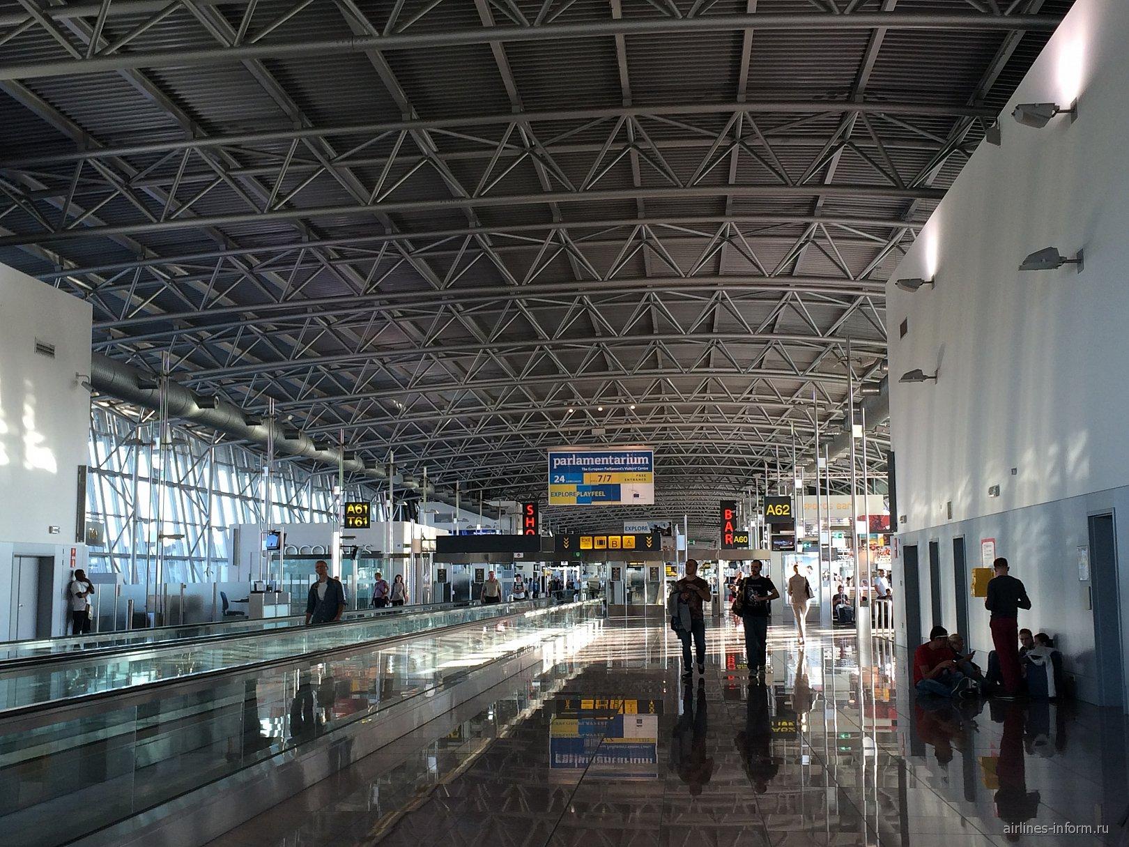 В аэропорту Брюсселя