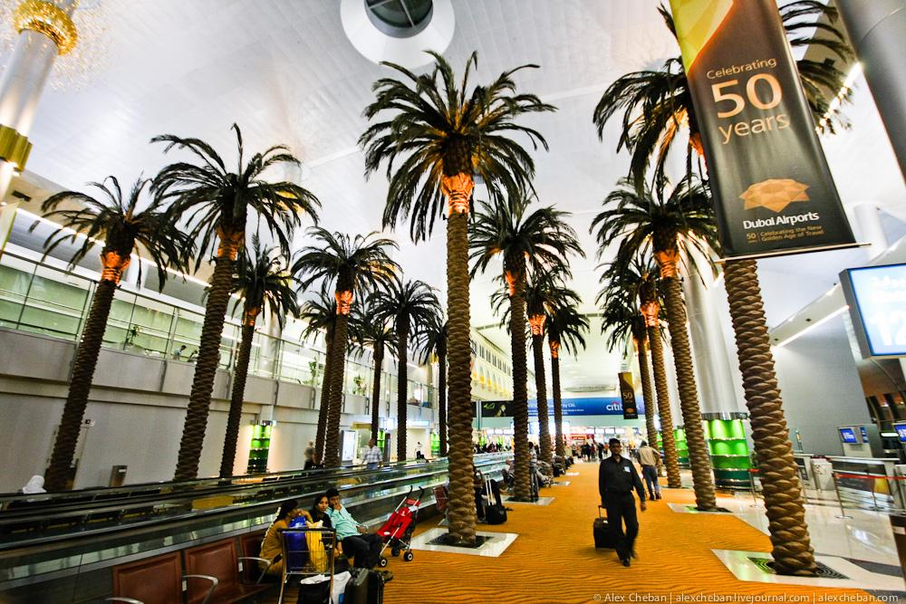 В Терминале 1 аэропорта Дубай