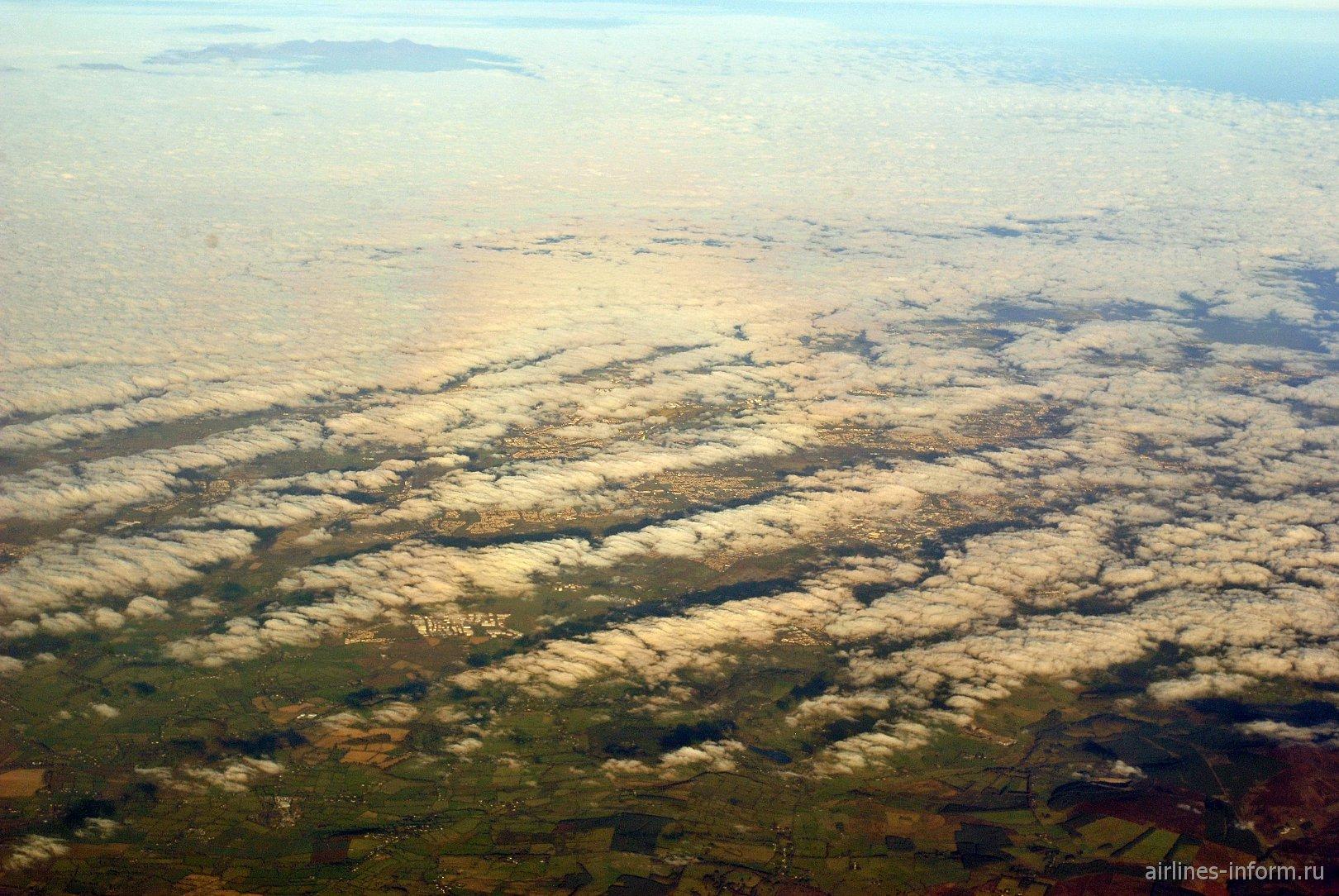 Облака над Ирландией