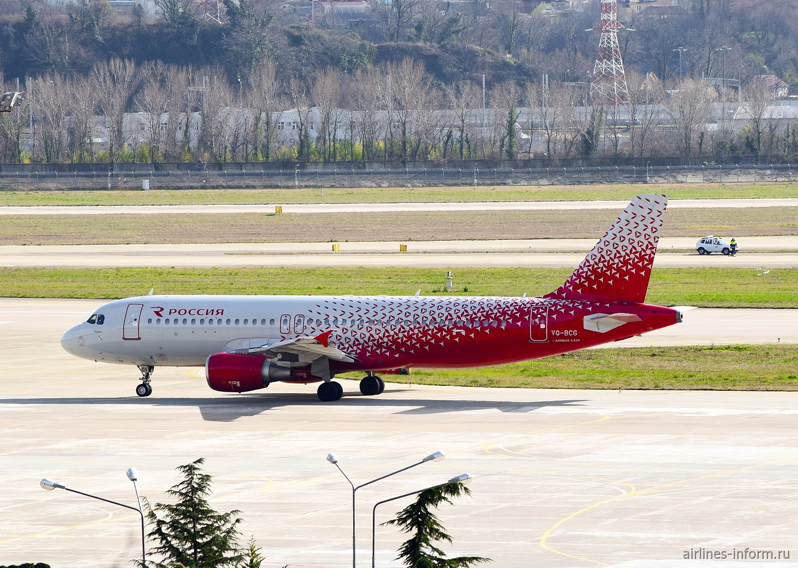 "Сочи - Санкт-Петербург, Россия, Airbus A320-214, VQ-BCG ""Курск"""