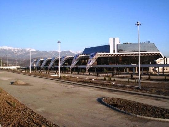 Новый терминал аэропорта Сочи