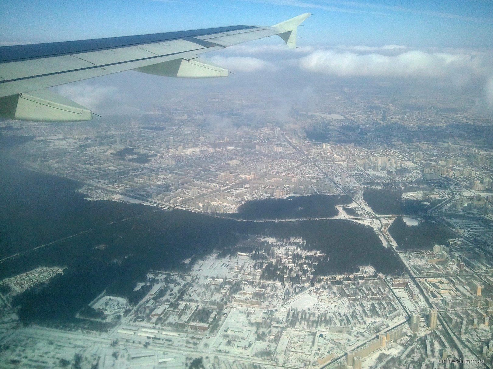 В полете над Екатеринбургом