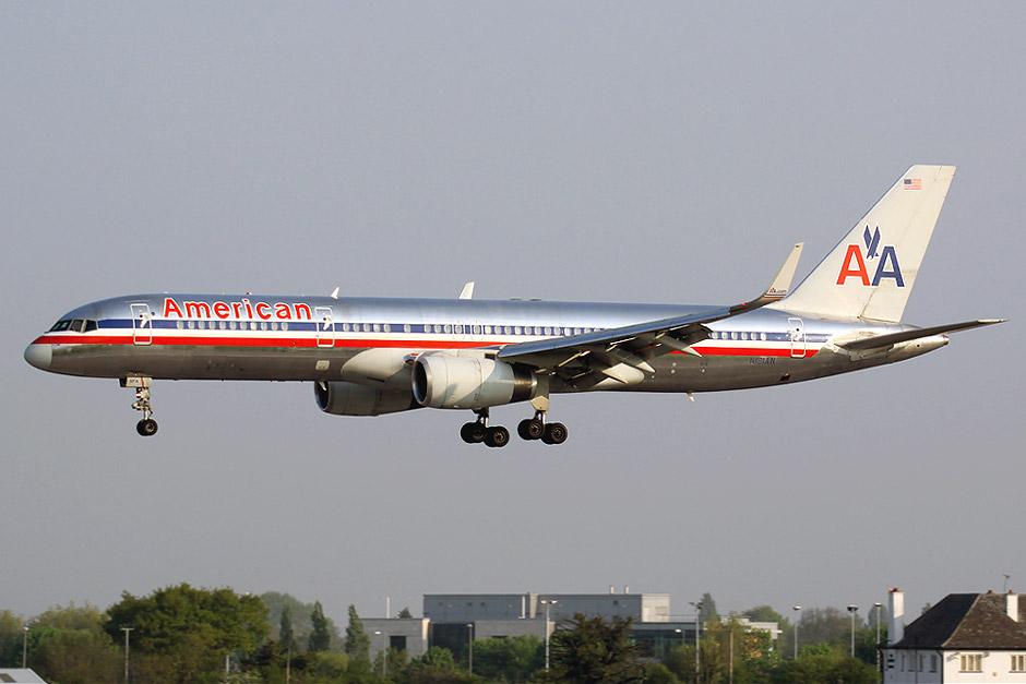Боинг-757-200 авиакомпании American Airlines