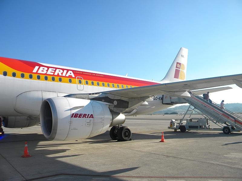Домодедово - Мадрид с Иберией