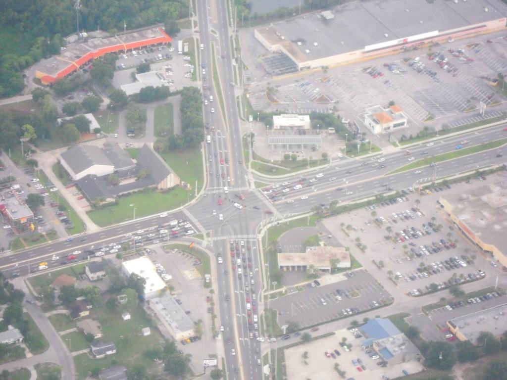 Intersection in Orlando