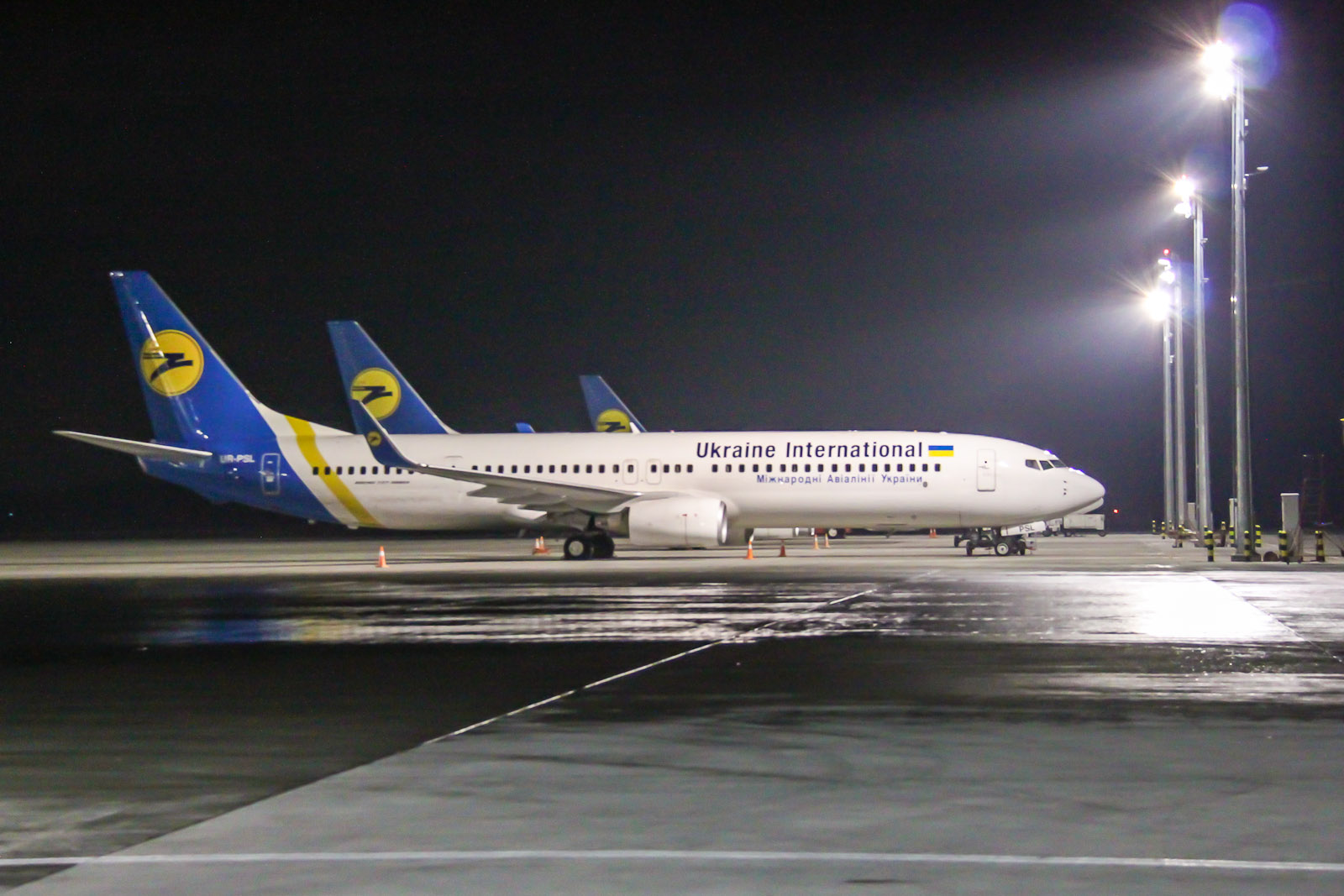 Boeing 737-800 of Ukraine International Airlines
