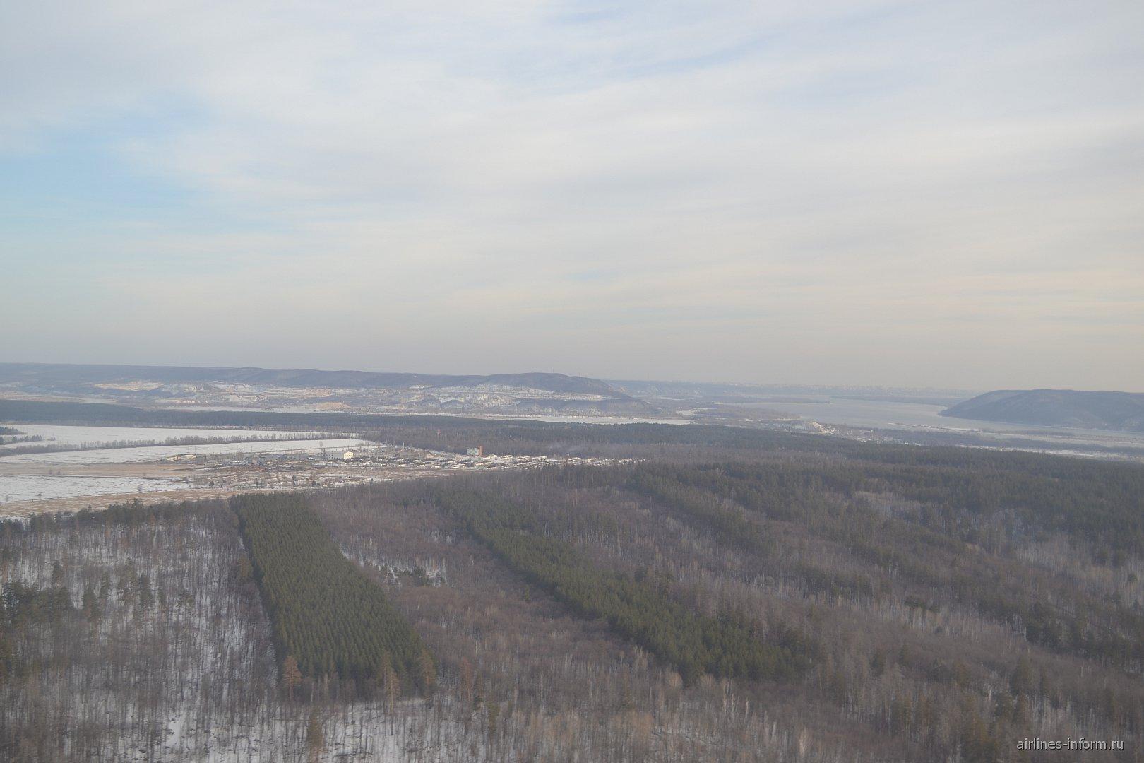 Жигулевские горы рядом с Самарой