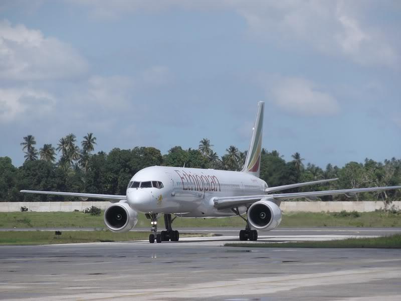 Boeing 757-200 авиакомпании Ethiopian Airlines