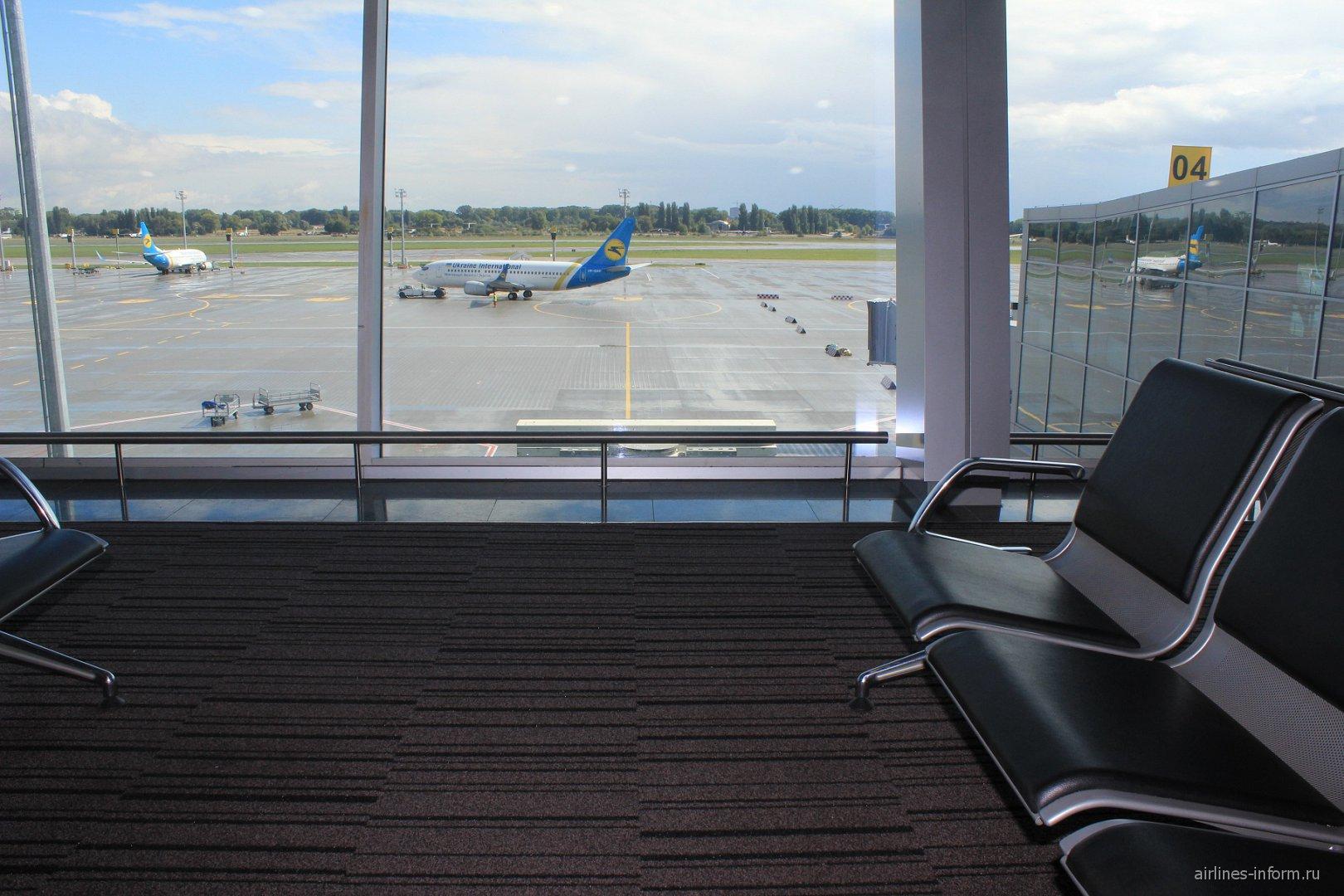 Терминал D аэропорта Борисполь