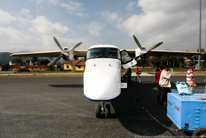 Самолет Дорнье-228 непальской авиакомпании Sita Air