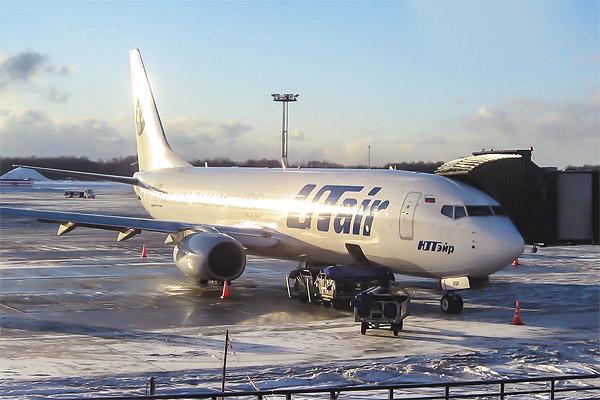 Новый Boeing 737-800 Sky Interior авиакомпании UTair