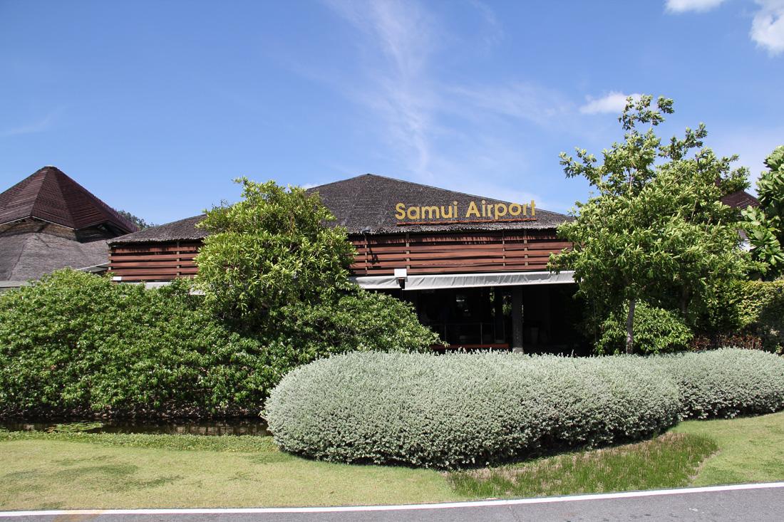 Аэровокзал аэропорта Самуи