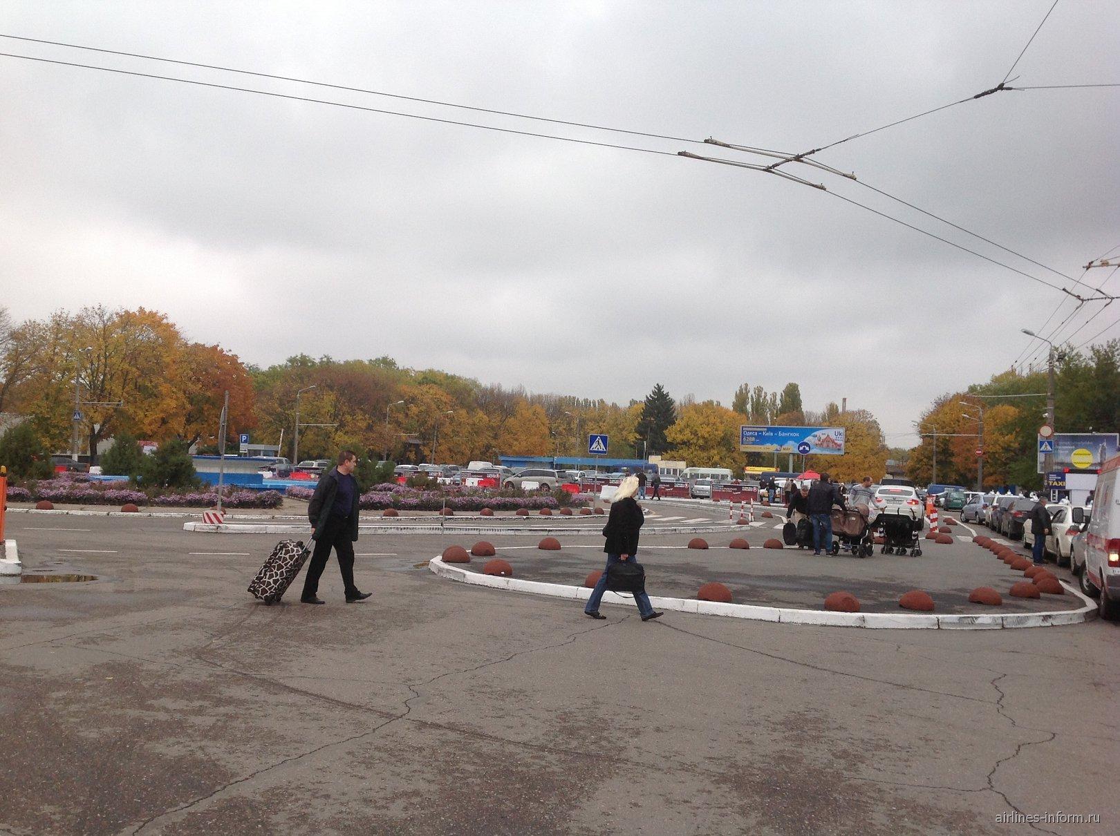 Привокзальная площадь аэропорта Одесса