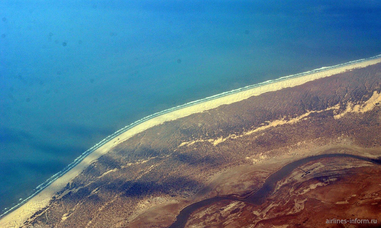 Побережье Атлантического океана в Мавритании