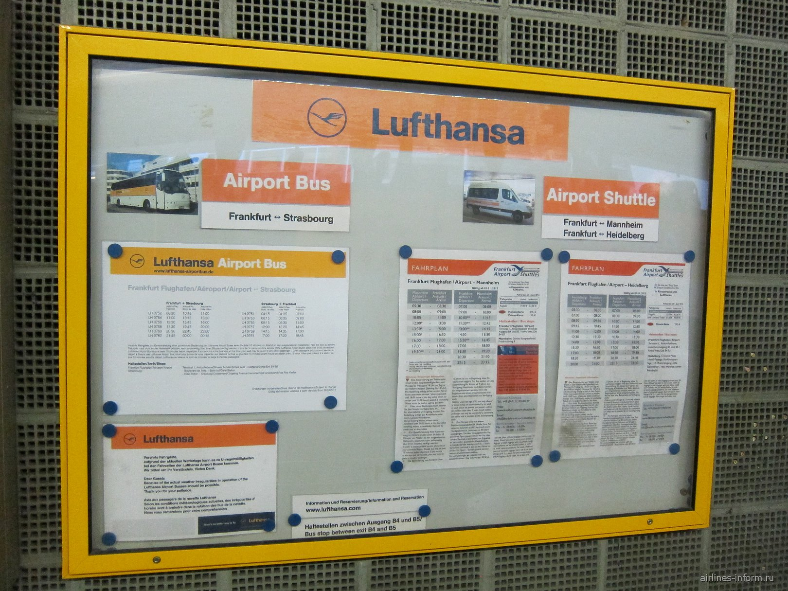 происхождение автобус из франкфурта аэропорта до старасбурга зуд