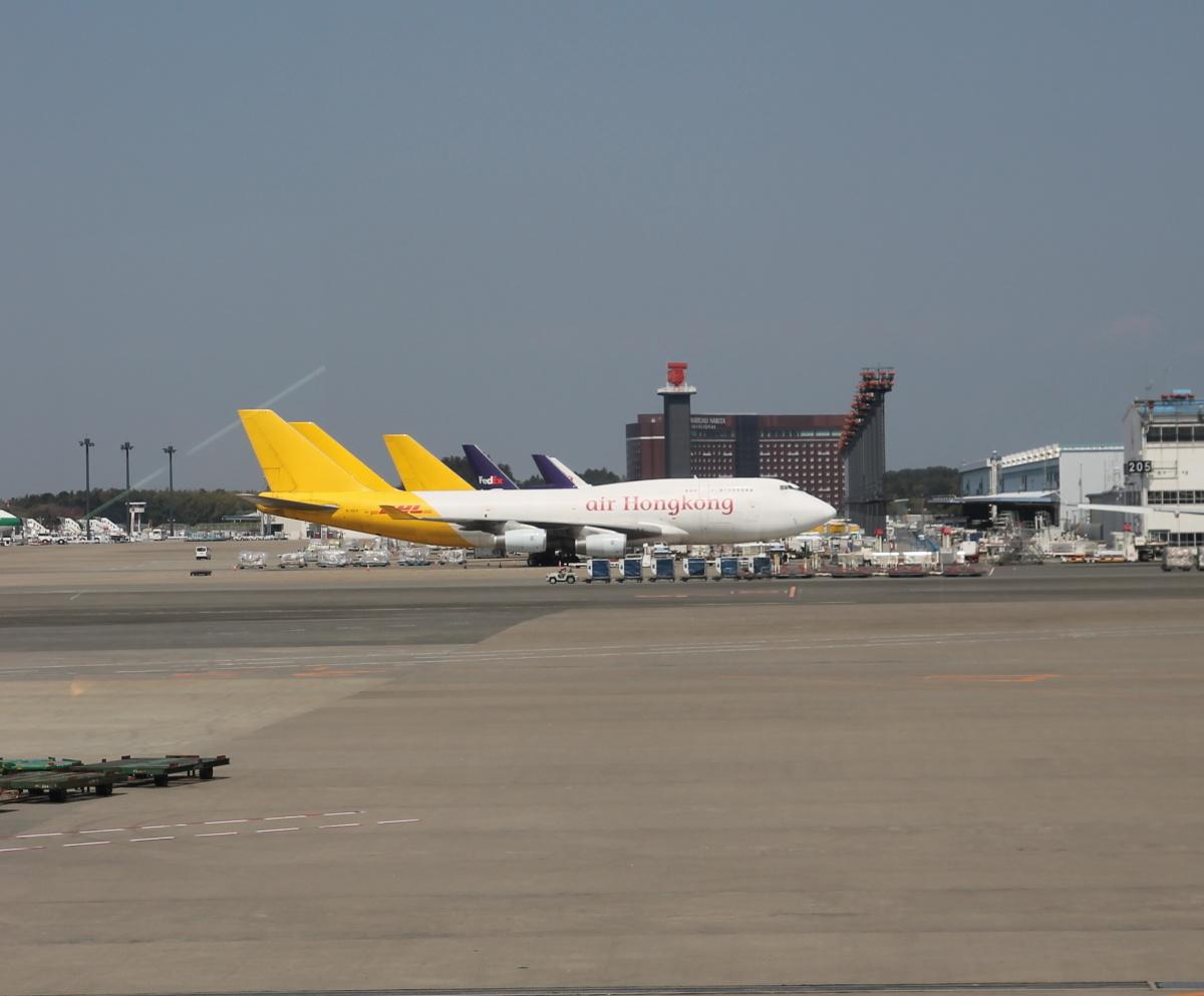 В аэропорту Токио Нарита