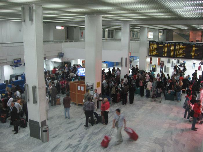 Аэровокзал аэропорта Ираклион