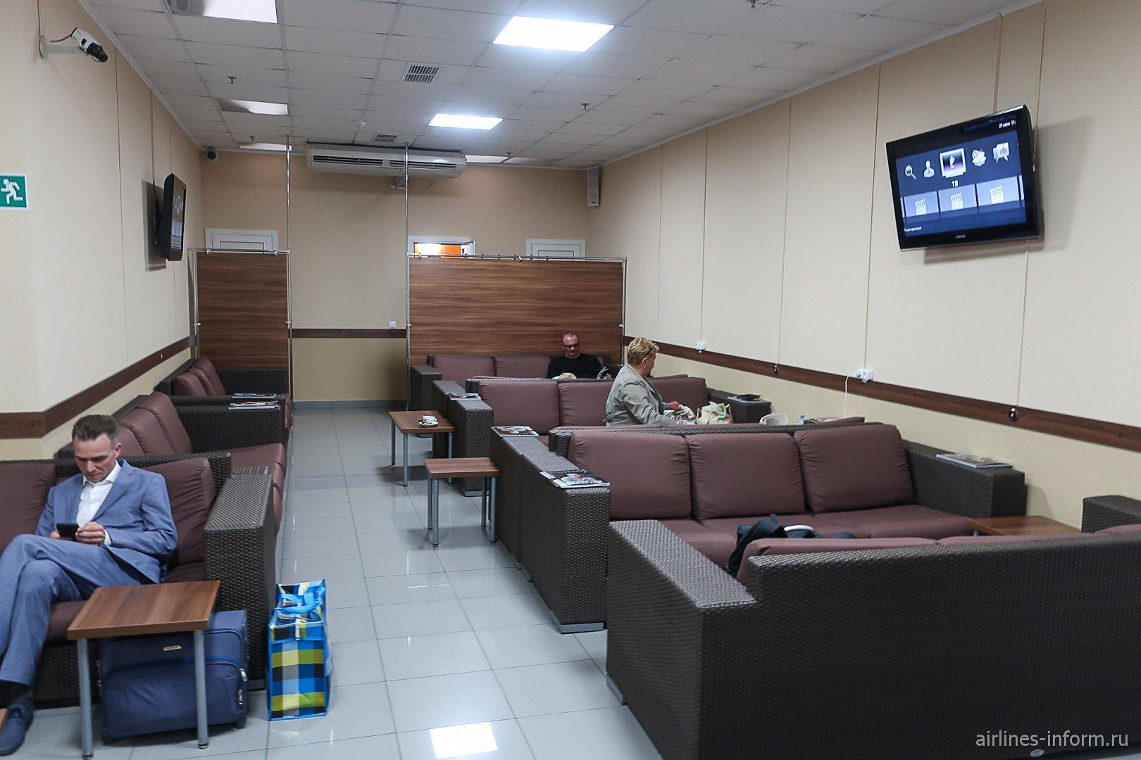 Бизнес-зал в аэропорту Геленджик