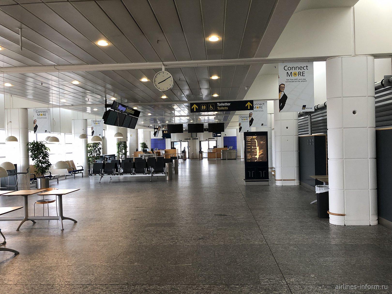 Выход на посадку в зоне А терминала 2 аэропорта Копенгаген Каструп