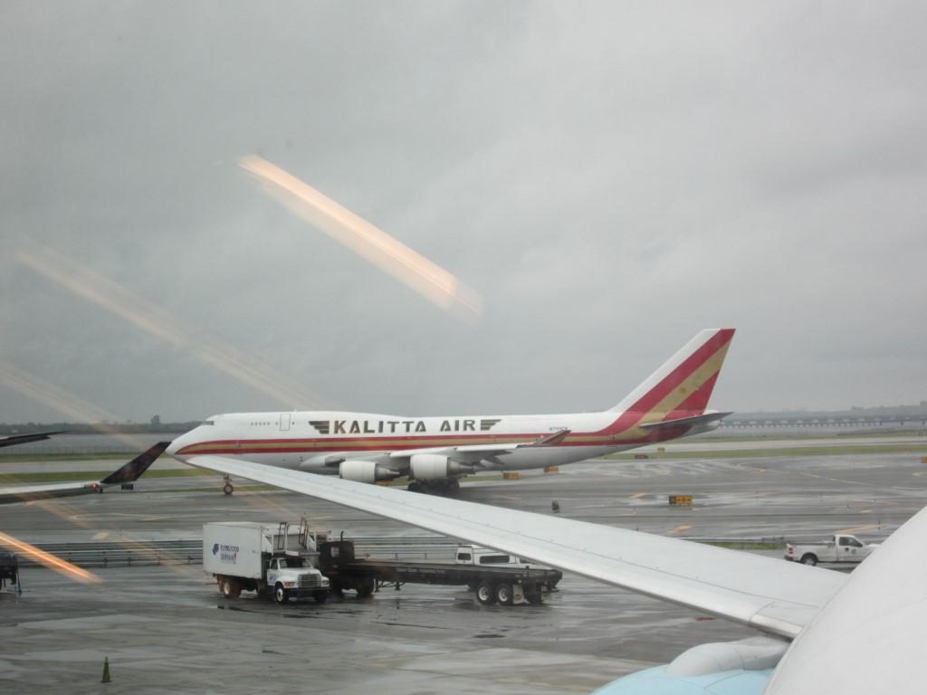В нью-йоркском аэропорту Кеннеди