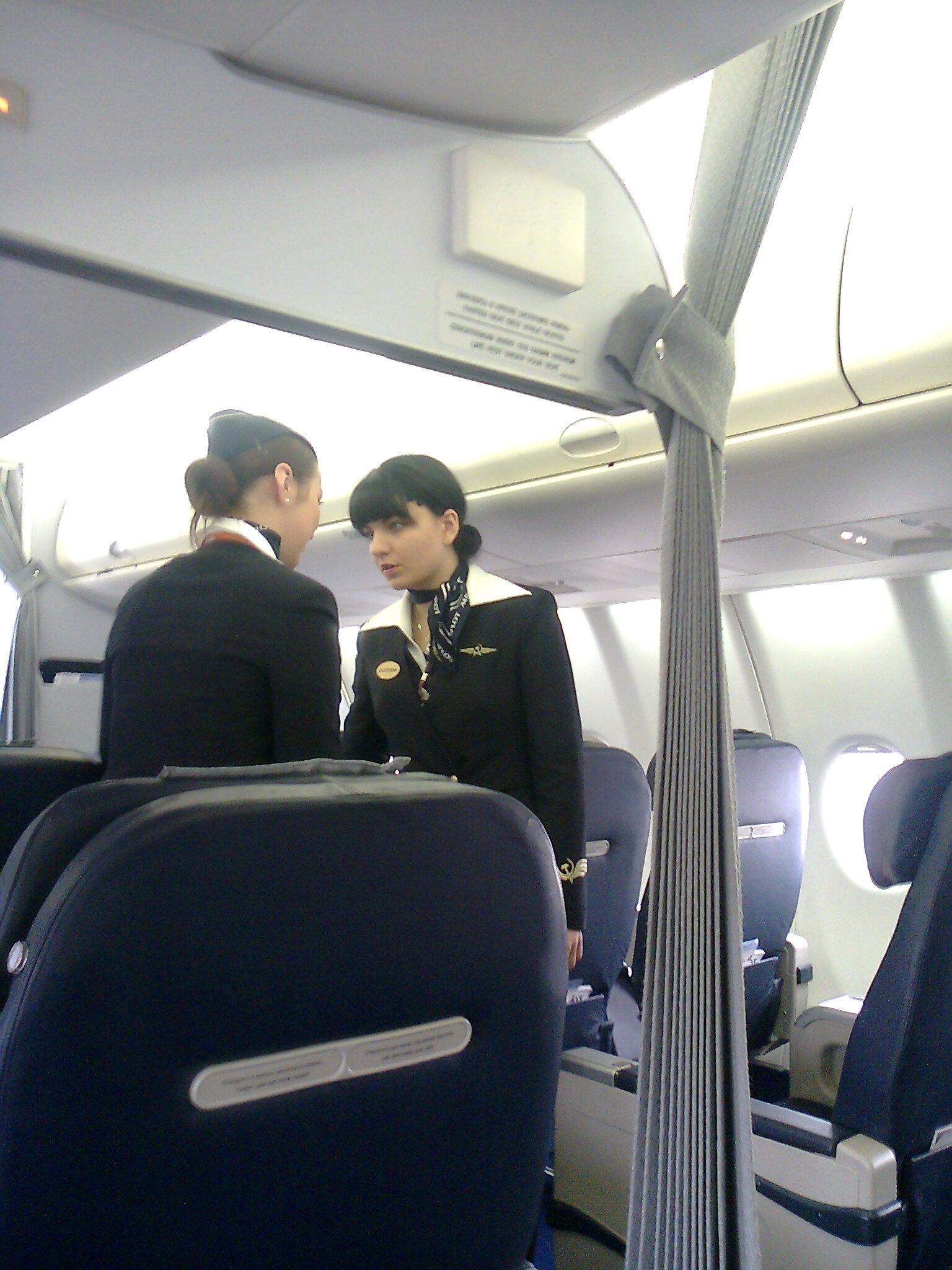 Бортпроводники авиакомпании Аэрофлот