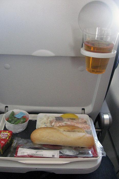 Кресла самолета Airbus A320 авиакомпании Air France