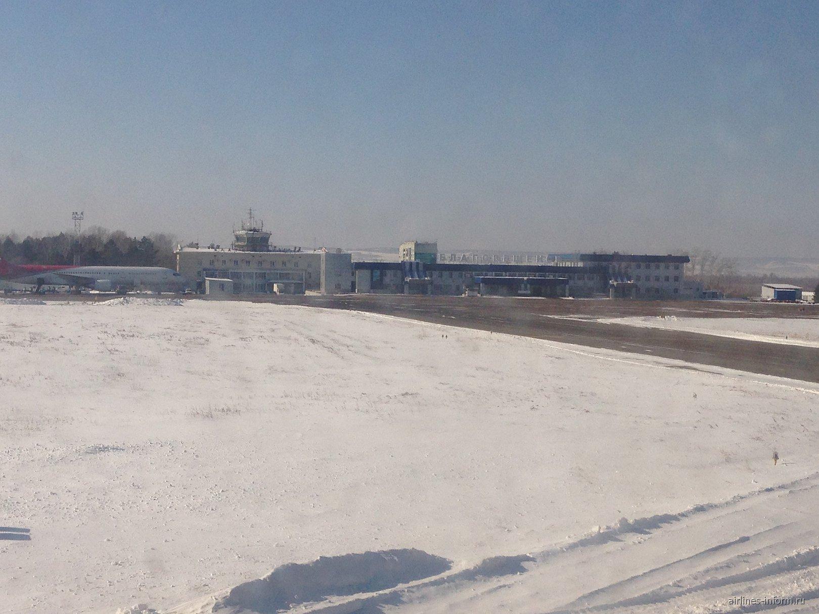 В аэропорту Благовещенска
