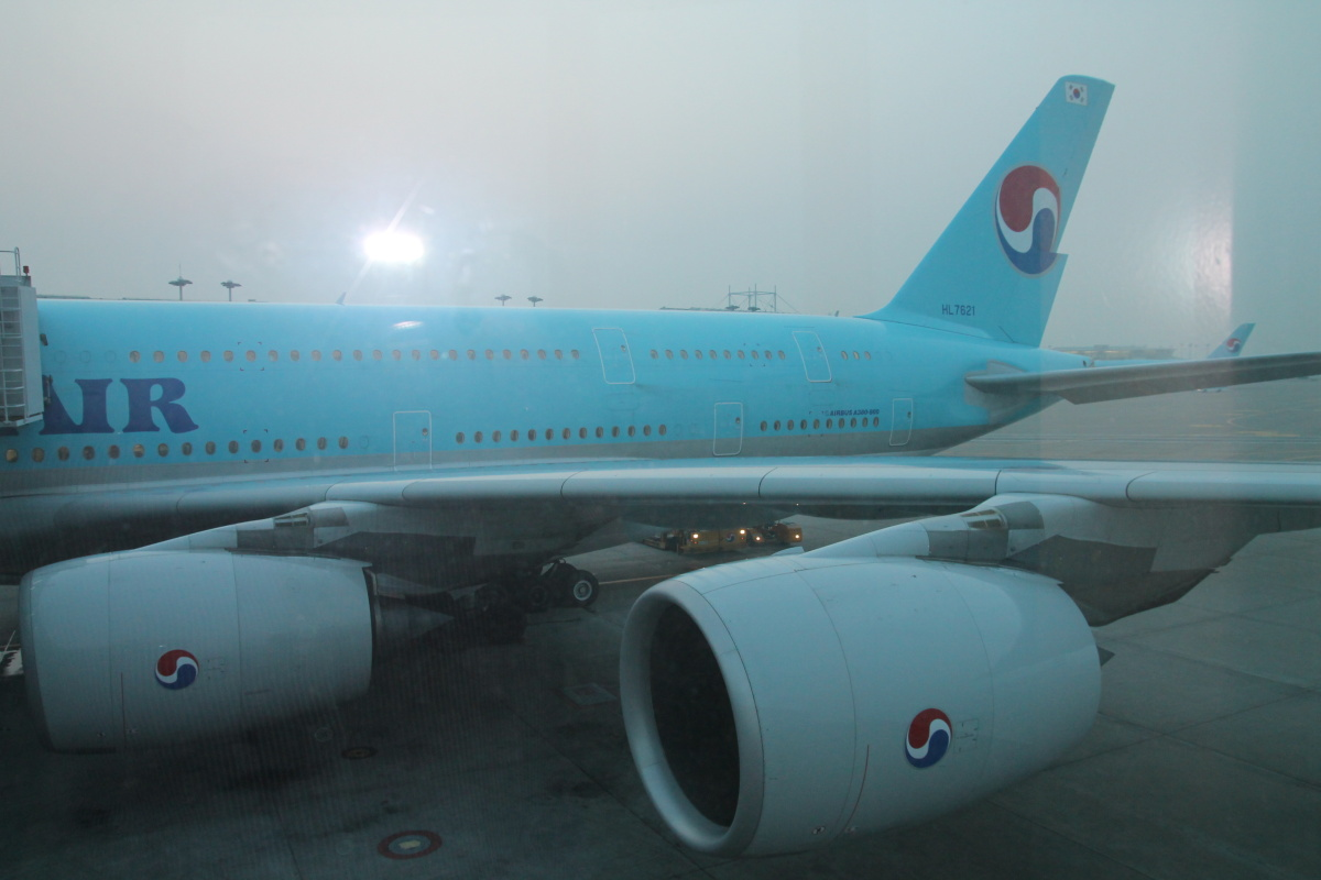 Airbus A380 авиакомпании Korean Air