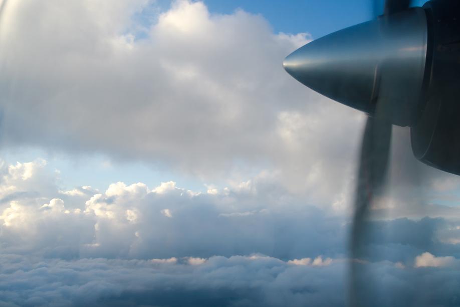 Рейс Катманду-Лукла авиакомпании Tara Air