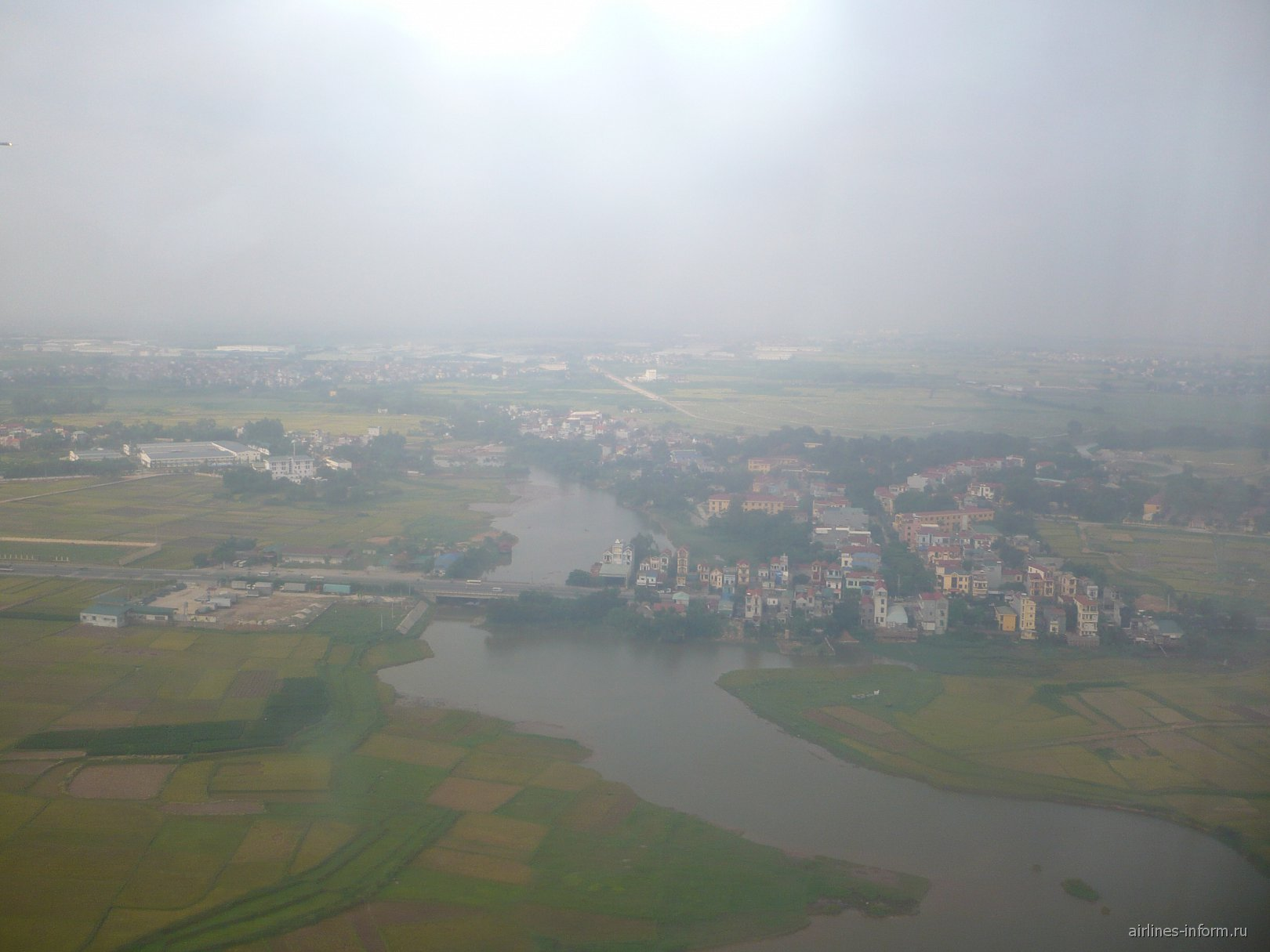 В полете над Вьетнамом