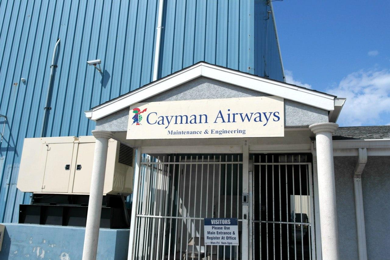 Офис Каймановых авиалиий в аэропорту Джорджтаун