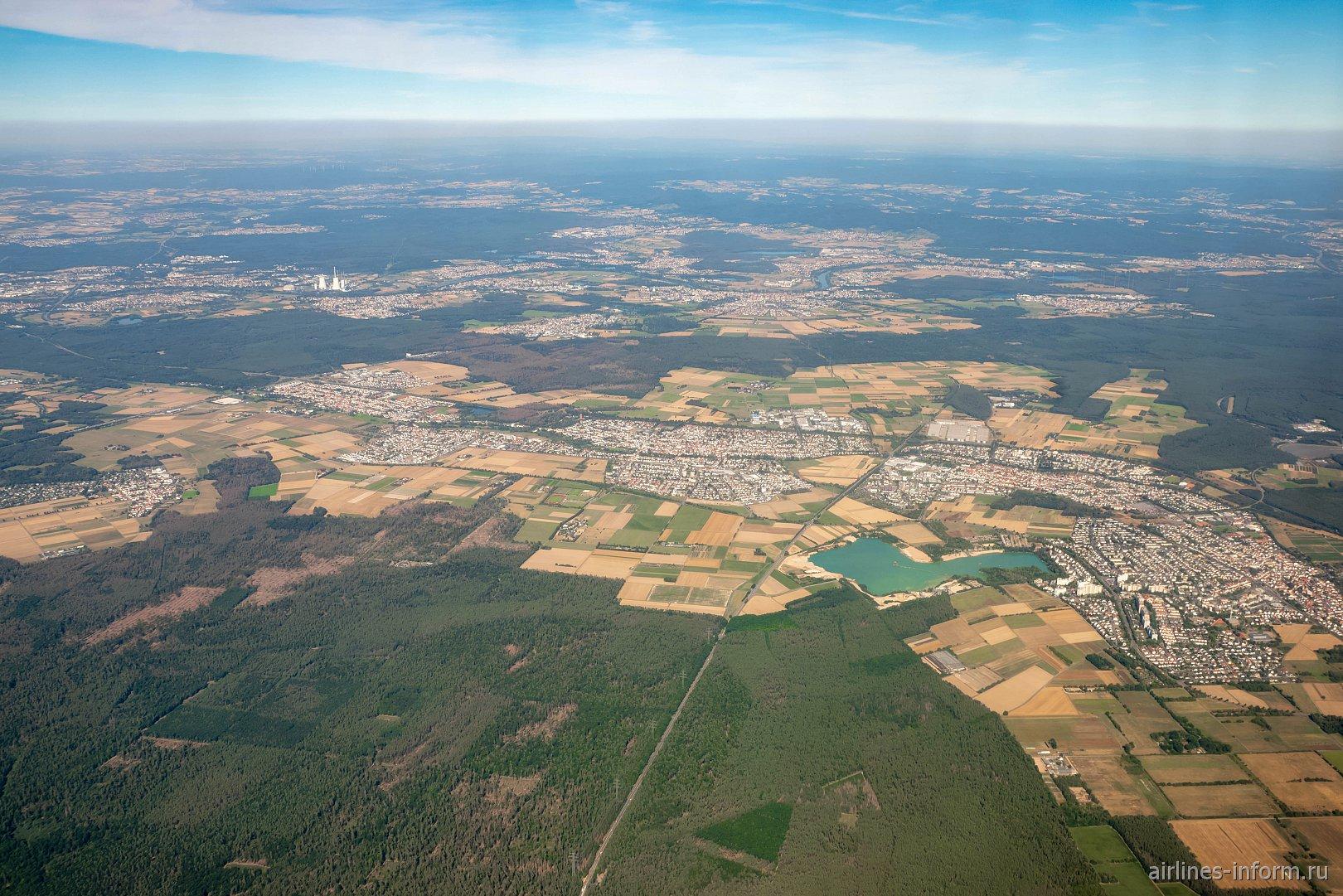 Пригороды города Франкфурт-на-Майне