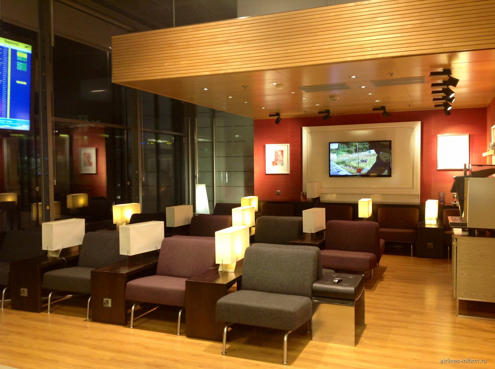 Бизнес-зал в Терминале 2 аэропорта Хельсинки Вантаа