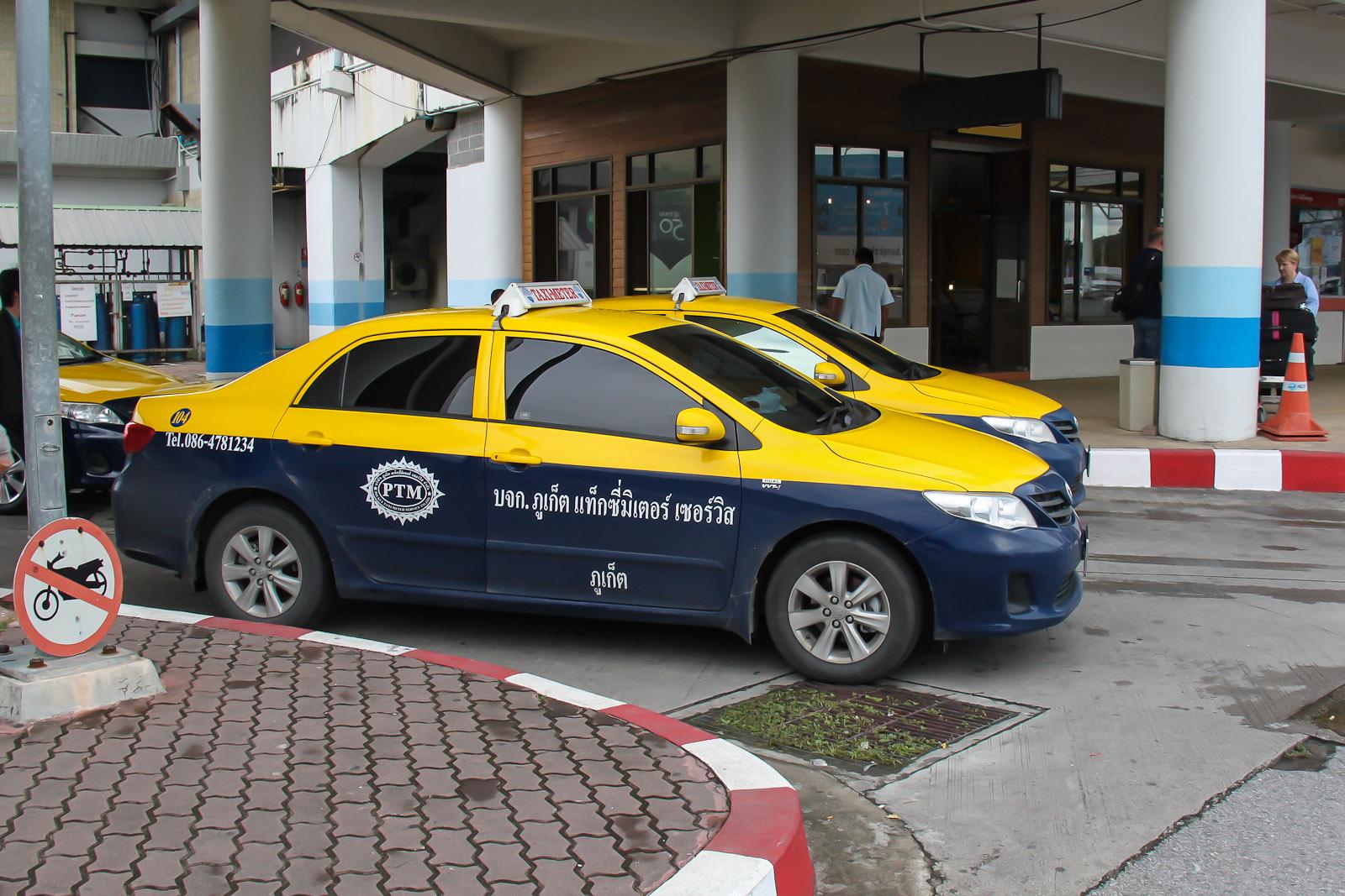 Такси в аэропорту Пхукет