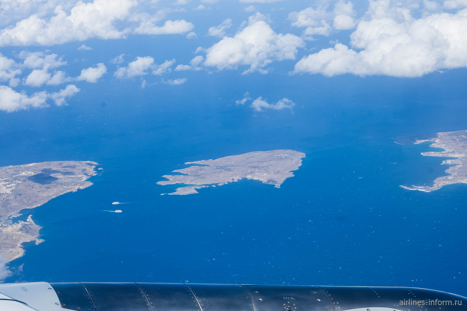 Острова Гозо, Комино и Мальта